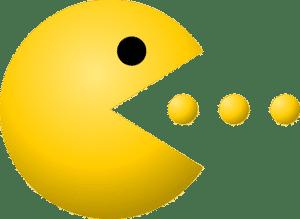 image of pac man game